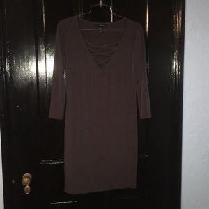 Grey club dress